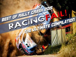 RACINGFAIL! sort sa compilation d'accidents de rallye 2015
